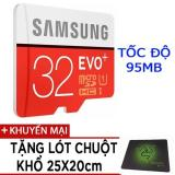 Bán Thẻ Nhớ Microsdhc Samsung Evo Plus 32Gb Tốc Độ 95Mb S Tặng Lot Chuột Trực Tuyến Hồ Chí Minh