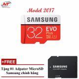 Mã Khuyến Mại Thẻ Nhớ Microsdhc Samsung Evo Plus 32Gb Uhs I U1 95Mb S Model 2017 Đỏ Tặng Microsd Adapter Samsung 32Gb Samsung
