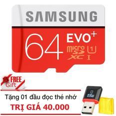 Bán Thẻ Nhớ Microsdhc Samsung Evo 64Gb 80Mb S Đỏ Tặng 01 Đầu Đọc Thẻ Nhớ Microsd Pt Samsung Có Thương Hiệu