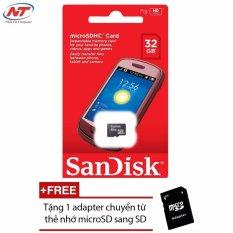 Mã Khuyến Mại Thẻ Nhớ Microsdhc Sandisk 32Gb Class 4 Tặng 01 Adapter Microsd Trong Hồ Chí Minh