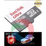Bán Thẻ Nhớ Microsdhc Sandisk Ultra 32Gb 48Mb S Xam Tặng 1 Đầu Đọc Thẻ Nhớ Nguyên