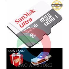 Bán Thẻ Nhớ Microsdhc Sandisk Ultra 32Gb 48Mb S Xam Tặng 1 Đầu Đọc Thẻ Nhớ Trực Tuyến Trong Hà Nội