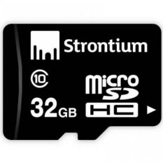 Thẻ nhớ MicroSDHC Strontium 32GB (Đen)