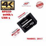 Bán Thẻ Nhớ Microsdhc Toshiba Exceria Uhs I U3 32Gb 90Mb S Kem Adapter Model 2017 Đỏ Trực Tuyến Hồ Chí Minh