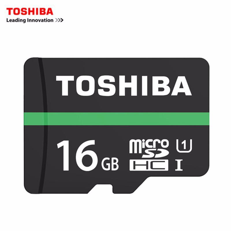 Thẻ nhớ MicroSDHC Toshiba M202 UHS-I U1 16GB 80MB/s - chuyên dành cho camera (Đen)