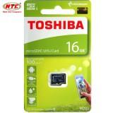 Mã Khuyến Mại Thẻ Nhớ Microsdhc Toshiba M203 Uhs I U1 16Gb 100Mb S Chuyen Danh Cho Camera Đen Trong Hồ Chí Minh