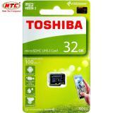 Giá Bán Thẻ Nhớ Microsdhc Toshiba M203 Uhs I U1 32Gb 100Mb S Chuyen Danh Cho Camera Đen Toshiba Tốt Nhất