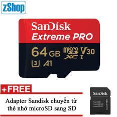 Thẻ Nhớ MicroSDXC SanDisk Extreme Pro V30 A1 667x 64GB 100MB/s