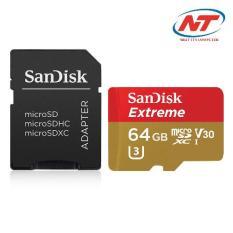 Ôn Tập Thẻ Nhớ Microsdxc Sandisk Extreme V30 600X 64Gb 90Mb S Sandisk Trong Hồ Chí Minh