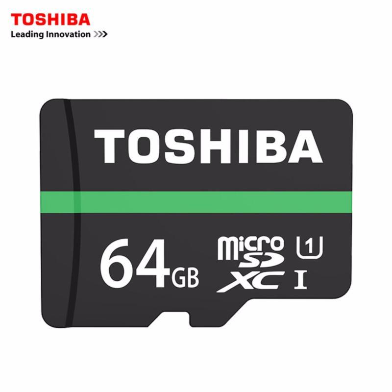 Thẻ nhớ MicroSDXC Toshiba M202 UHS-I U1 64GB 80MB/s - chuyên dành cho camera (Đen)
