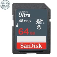 Mua Thẻ Nhớ Sandisk Sdxc Ultra Class 10 48Mb S 64Gb Hang Phan Phối Chinh Thức Sandisk