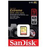 Thẻ Nhớ Sdhc Sandisk Extreme 32Gb Class 10 Uhs1 U3 90Mb S Vang Sandisk Chiết Khấu