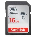 Giá Bán Thẻ Nhớ Sdhc Sandisk Ultra 533X Class 10 Uhs I 80Mb S 16Gb Nhãn Hiệu Sandisk