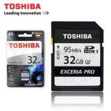 Chiết Khấu Thẻ Nhớ Sdhc Toshiba Exceria Pro Uhs 1 U3 32Gb 95Mb S Xam Toshiba Hồ Chí Minh