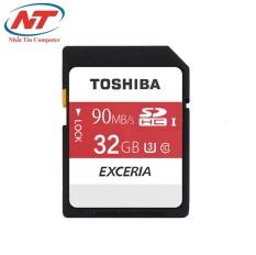 Giá Bán Thẻ Nhớ Sdhc Toshiba Exceria Uhs 1 U3 4K 32Gb 90Mb S Đỏ Trắng Nhãn Hiệu Toshiba