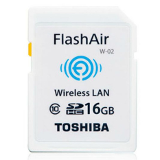 Mua Thẻ Nhớ Sdhc Toshiba Wi Fi Flashair 16Gb Trắng Mới
