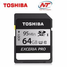 Cửa Hàng Thẻ Nhớ Sdxc Toshiba Exceria Pro Uhs 1 U3 64Gb 95Mb S Hồ Chí Minh