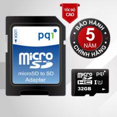 Mua Thẻ Nhớ Tốc Độ Cao Up To 85Mb S Pqi U1C10 Micro Sdhc 32Gb Va Adapter Pqi Nguyên