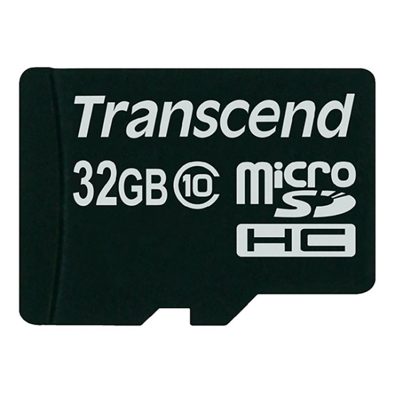 Thẻ nhớ Transcend 32GB TS32GUSDC10 Micro SDHC (Đen)