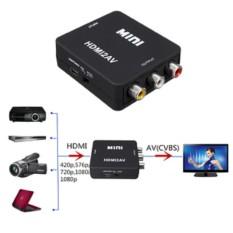 Hình ảnh Thiết bị chuyển đổi HDMI sang AV Full HD 1080p (Đen)