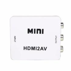Hình ảnh Thiết bị chuyển đổi HDMI sang AV Full HD 1080p (Trắng)