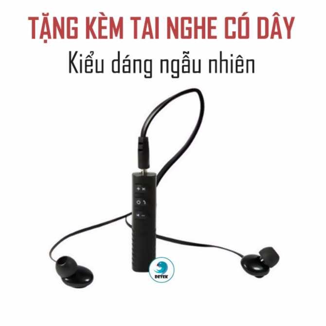 Hình ảnh Thiết bị chuyển đổi tai nghe thường thành tai nghe Bluetooth Detek R889