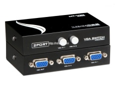 Hình ảnh Thiết bị chuyển đổi tín hiệu 2 CPU ra 1 màn hình - 2 Port VGA Switch