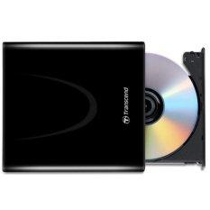 Hình ảnh Thiết bị đọc và ghi đĩa TRANSCEND DVDWR TS8X DVDS-K (Đen)