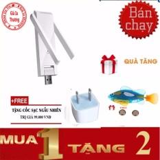 Cửa Hàng Thiết Bị Kich Song Wifi Mercury Mw302Re 2 Ăngten 300Mbps Củ Sạc Ca Robo Fish Mercury Trong Hà Nội