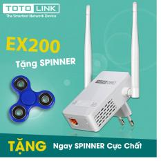 Mua Thiết Bị Mở Rộng Song Wifi Totolink Ex200 Tặng Spinner Totolink