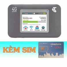 Chiết Khấu Thiết Bị Phat Wifi 3G 4G Netgear Aircard 782S Sim 4G Vinaphone 60Gb Thang Có Thương Hiệu