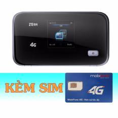 Bán Thiết Bị Phat Wifi 3G 4G Zte Mf93D Sim 4G Mobifone 9Gb Thang Rẻ