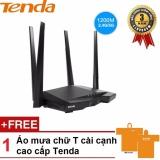 Bán Thiết Bị Phat Wifi Chuẩn Ac 1200Mbps Tenda Ac6 Đen Hang Phan Phối Chinh Thức Tặng 01 Ao Đi Mưa Cao Cấp Tenda Tenda Có Thương Hiệu