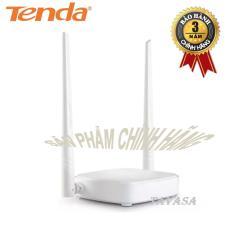 Thiết Bị Phat Wifi Tốc Độ 300M Tenda N301 Trắng Phan Phối Chinh Hang Tenda Chiết Khấu