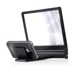 Hình ảnh Thiết bị phóng to màn hình điện thoại 3D Enlarged Screen (Đen)