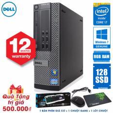 Thung May Tinh Dell Optiplex 790 Sff Core I7 2600 Ram 8Gb Ssd 128Gb Tặng Phim Giả Cơ Chuột Lot Chuột Hang Nhập Khẩu Dell Chiết Khấu 30
