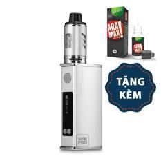 Thuốc lá điện tử Vape Siêu khói BIGBOX Mini 80W Kit (Silver) tặng dầu Aramax