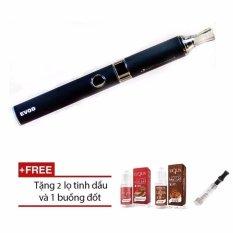 Hình ảnh Thuốc lá Shisha điện tử Vape Evod EGO BLUE Cao cấp + Tặng kèm 2 hộp tinh dầu 10ml và 01 buồng đốt CE dự phòng