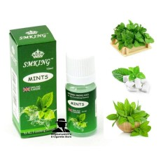 Hình ảnh Tinh dầu thuốc lá điện tử Vape - Shisha SMKING hương vị bạc hà (mint) 10ml