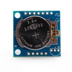 Hình ảnh Nhỏ RTC I2C AT24C32 DS1307 Đồng Hồ Thời Gian Thực Module Ban Cho Arduino-quốc tế