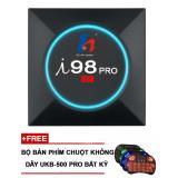 Giá Bán Tivi Box I98 Pro Android 6 Amlogic S905X 2G 16G Tặng Ban Phim Kiem Chuột Khong Day Co Đen Led Nền Mới Rẻ