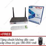 Ôn Tập Tivi Box Netbox V1 Ktg Hd2 Chuột Khong Day Ebus Cao Cấp Oem