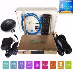 Hình ảnh Tivi Box Q9S 4K Ultra HD 2017 kèm chuột không dây