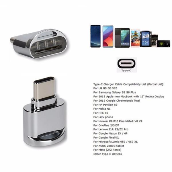 Bảng giá Tốc độ cao USB-C USB3.1 Loại C đến USB 2.0 Micro SD / TF Thẻ nhớ với chức năng OTG - intl Phong Vũ