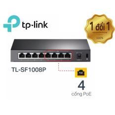 Chiết Khấu Tp Link Tl Sf1008P Switch 10 100Mbps 8 Cổng Với 4 Cổng Poe Để Ban Hang Phan Phối Chinh Thức Tp Link Trong Vietnam