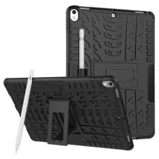 Hình ảnh Bảo Nhựa Kết Hợp Giữa Nhựa Nhiệt Dẻo (TPU) And Nhựa Tổng Hợp (MÁY TÍNH) dành cho iPad Pro Mới 10.5 inch (Đen)-Quốc tế