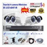 Cửa Hàng Trọn Bộ 4 Camera Hikvision Ds 2Ce16D0T Ir Va Ds 7204Hqhi K1 Hồ Chí Minh