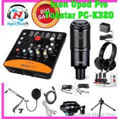 Bán Mua Trọn Bộ Live Stream Takstar Pc K320 Sound Icon Upod Pro Việt Nam