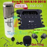 Ôn Tập Trên Trọn Bộ Xox K10 2018 Micro Bm 900 Tặng Tai Phone