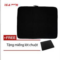 Túi Chống Sốc cao cấp Cho Laptop 15.6 Inch (đen) + Tặng Bàn Di Chuột siêu đẹp(đen)